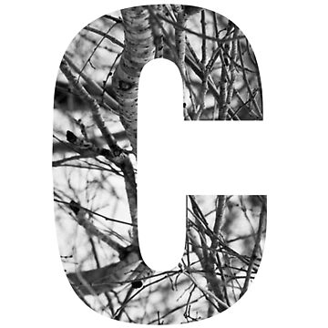 Tree letter C by PCollection