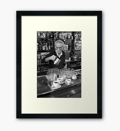 Café Testaccio Framed Print