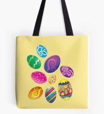 Many Easter eggs  Tote Bag