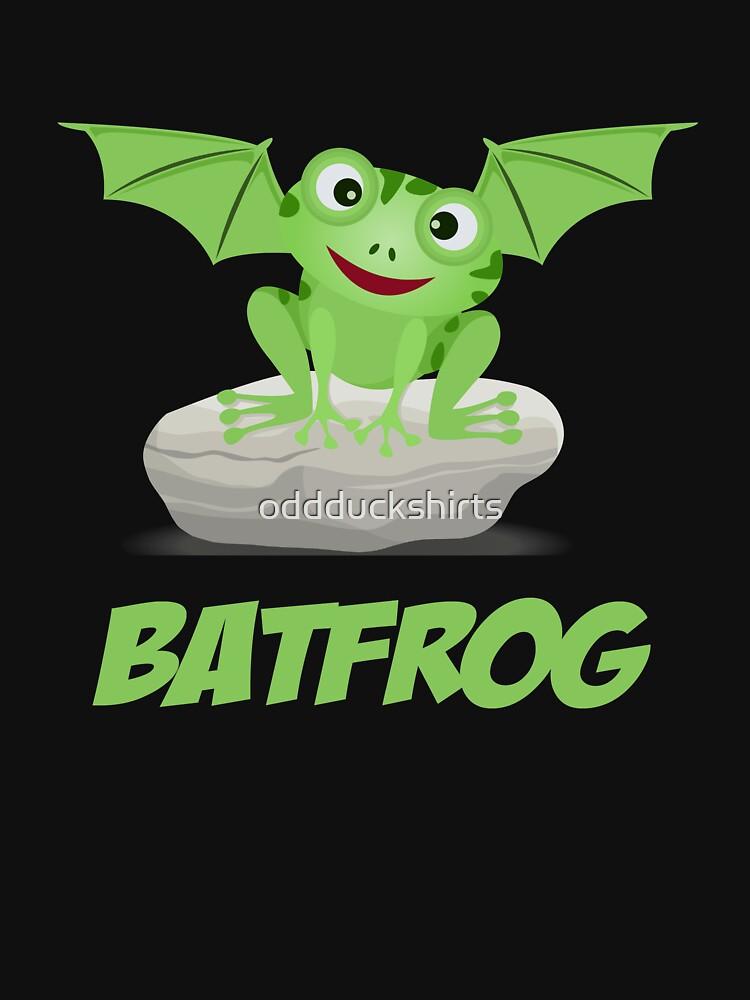 Batfrog Bat Frog CM Kawaii by oddduckshirts
