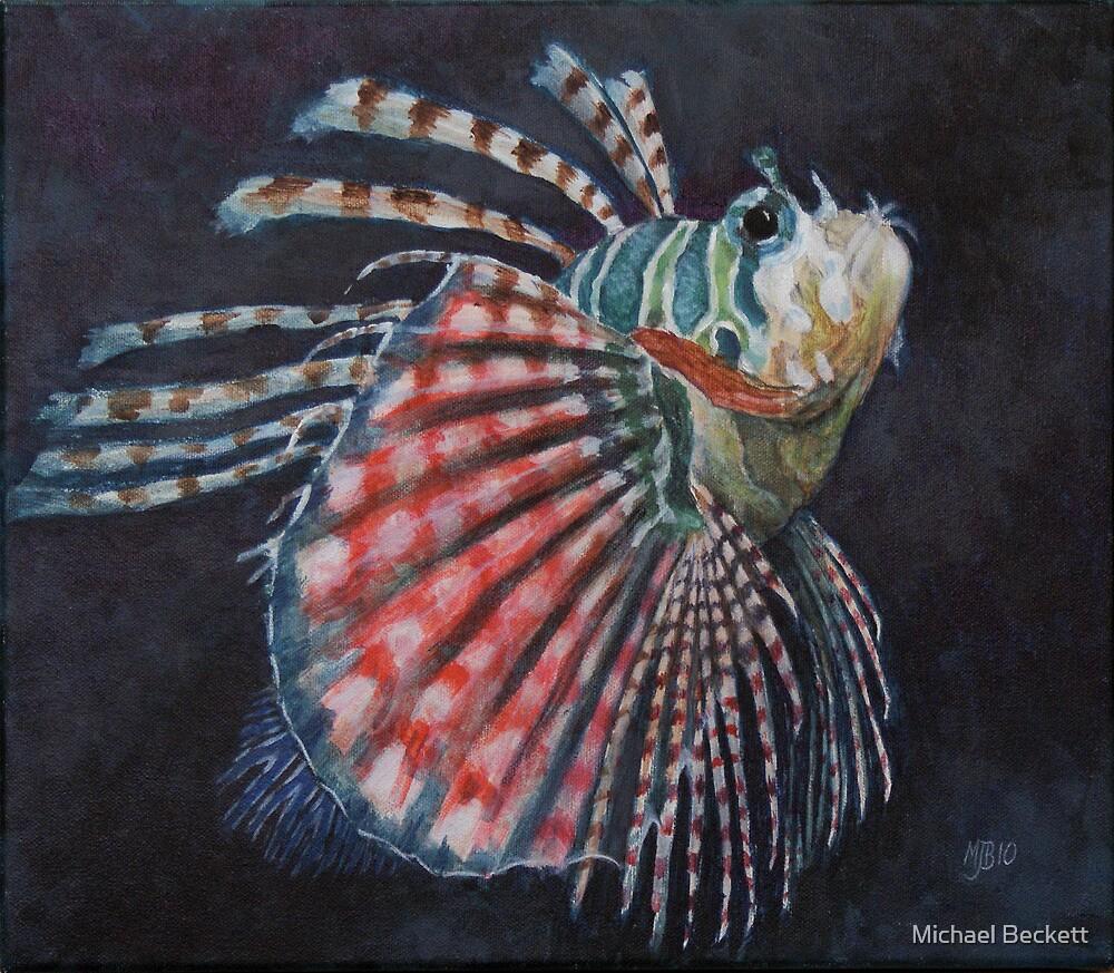 Lionfish by Michael Beckett