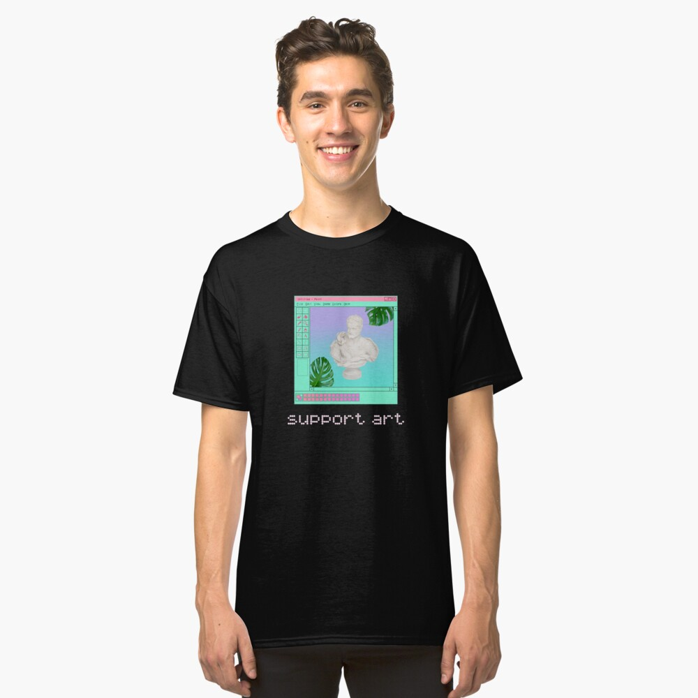 Support Art Classic T-Shirt Front