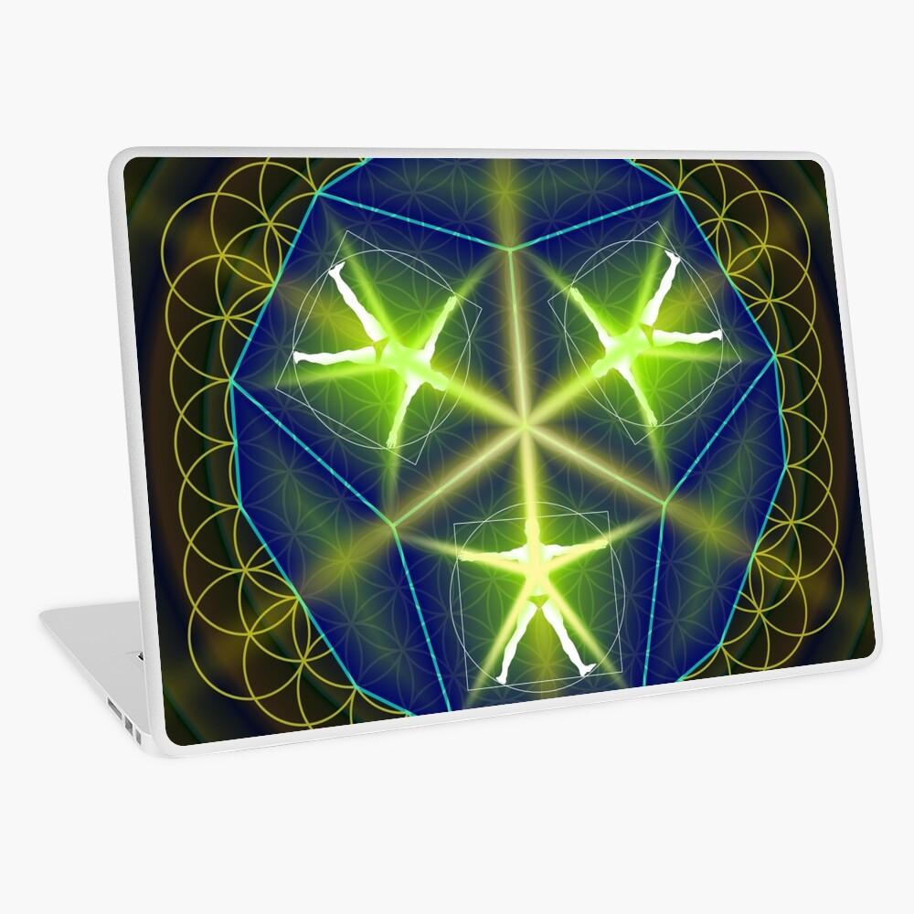 Geistiges Wesen Laptop Folie
