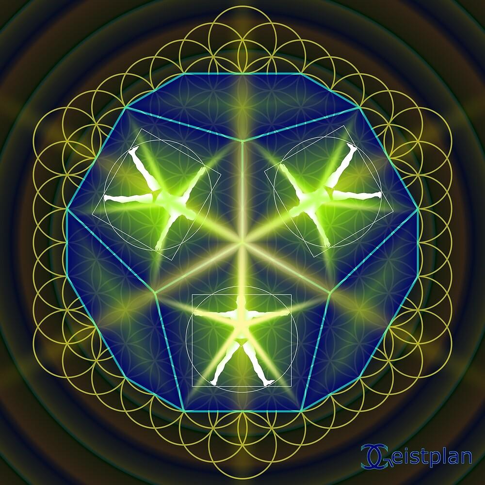 Geistiges Wesen von Geistplan