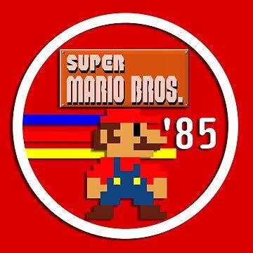 Classic Mario '85 by EchoSoloArt