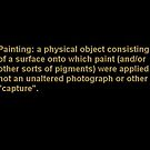 """What is, and is not, """"a Painting""""? by Carson Collins"""