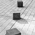 Cube Abstract by Alexandra Lavizzari
