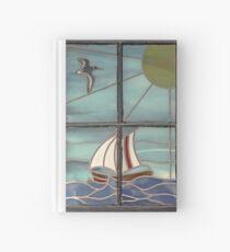 Cuaderno de tapa dura World from a Window - Portmahomack, Scottish Highlands, Scotland, UK, Europe