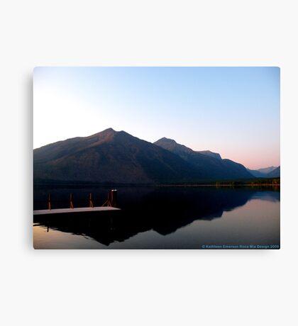 Lake MacDonald 2 Canvas Print