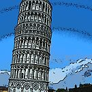 Leaning Tower of Pisa bywhacky by bywhacky
