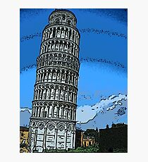 Leaning Tower of Pisa bywhacky Photographic Print