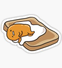 Cute Lazy Egg Sticker