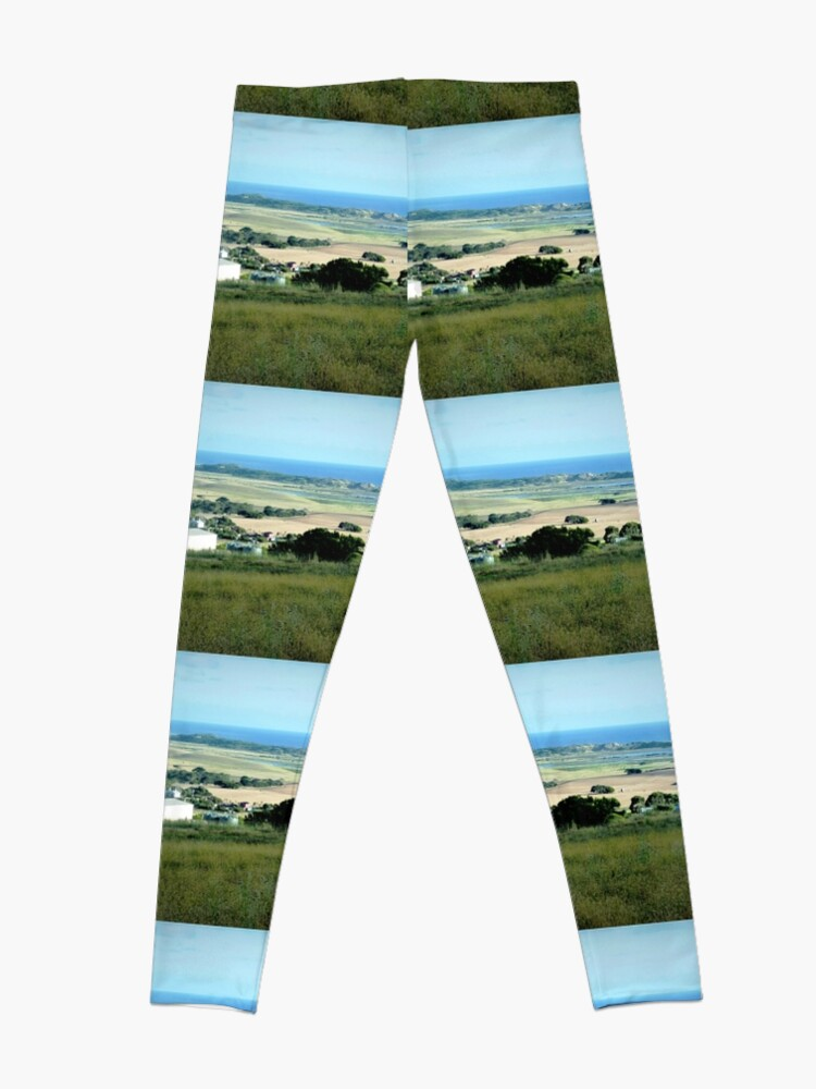 Alternative Ansicht von Ackerland in der Nähe des Tower HIll Vic. Leggings