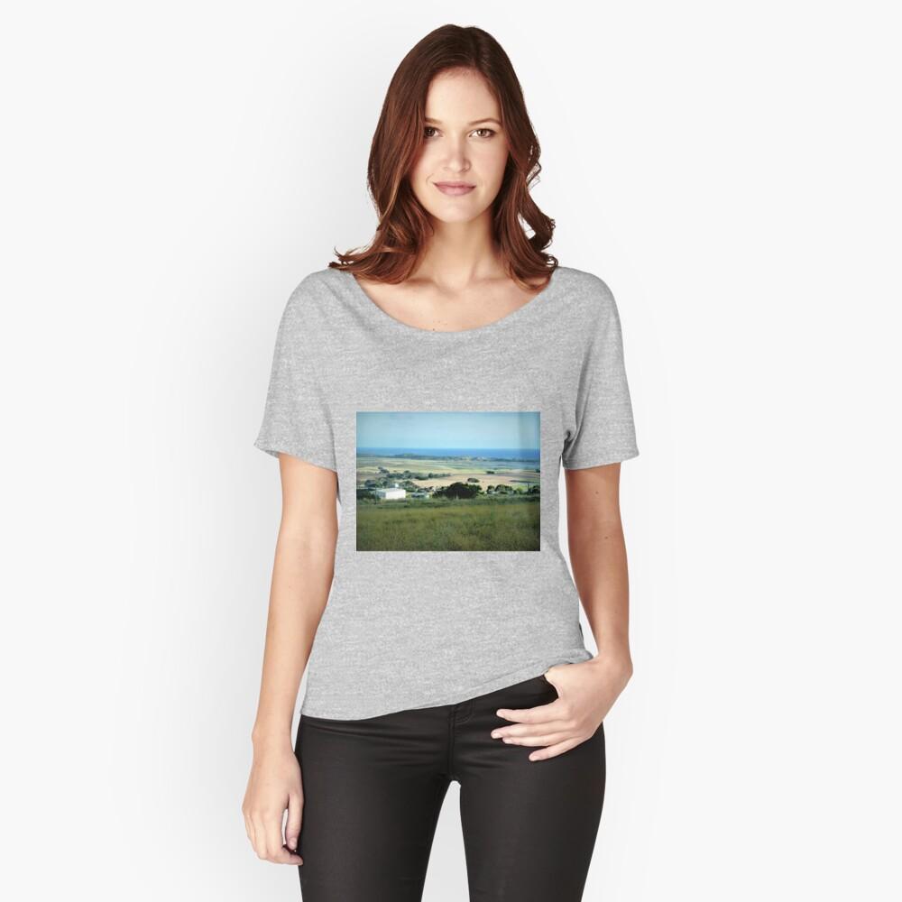 Ackerland in der Nähe des Tower HIll Vic. Loose Fit T-Shirt
