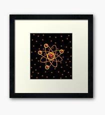Atomic Structure Framed Print