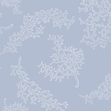 Diseño de océano azul bígaro de peggieprints