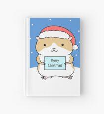 Santa Hamster Hardcover Journal