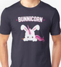 Bunnicorn Cute Bunny Unicorn Funny Easter Slim Fit T-Shirt