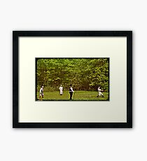 The Game 1866 Framed Print