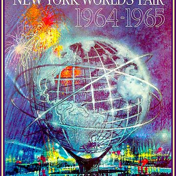 NEW YORKS WORLD FAIR : Vintage 1964 Print by posterbobs