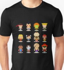 Camiseta ajustada Street Fighter - El guerrero mundial