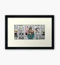 Grimes /// Framed Print