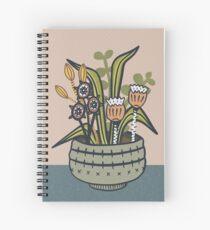 Cheeky Modern Botanical Spiral Notebook