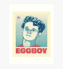 Egg Boy Aussie Hero Hope Poster Art Print