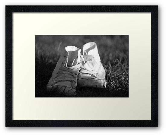 White Converse by Amanda Huggins