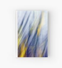 An April Afternoon Abstract Impressionism Hardcover Journal