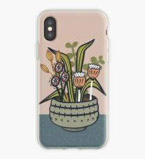 Cheeky Modern Botanical iPhone Case