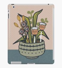 Cheeky Modern Botanical iPad Case/Skin