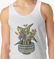 Cheeky Modern Botanical Tank Top