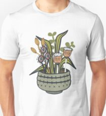 Cheeky Modern Botanical Slim Fit T-Shirt
