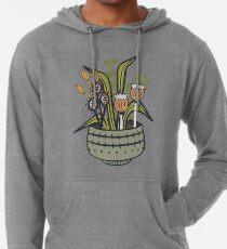 Cheeky Modern Botanical Lightweight Hoodie