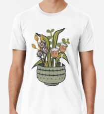 Cheeky Modern Botanical Premium T-Shirt