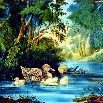 The Pond In the Woods - 1856 by CrankyOldDude