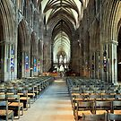 Lichfield Cathedral, The Nave by John Dalkin