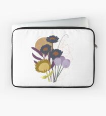 Autumnal Botanical Print Laptop Sleeve
