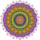 Floral Mandala - More of that Jazz by Carrie Dennison
