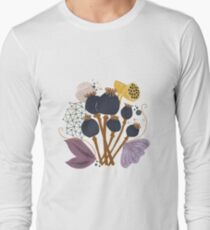 Fall Seed Pod Bouquet Long Sleeve T-Shirt