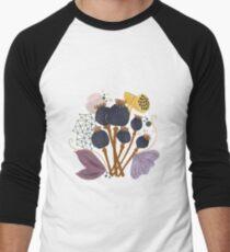 Fall Seed Pod Bouquet Baseball ¾ Sleeve T-Shirt