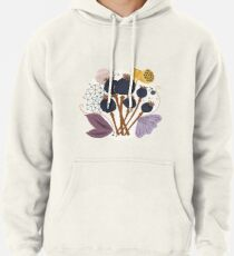 Fall Seed Pod Bouquet Pullover Hoodie