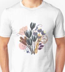 Fall Bouquet Slim Fit T-Shirt