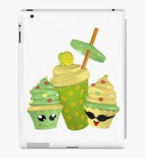 lustige 3D Cupcakes iPad-Hülle & Skin