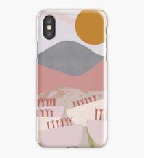 Desert Mountain Sunrise iPhone Case