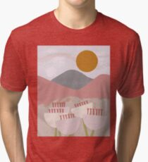 Desert Mountain Sunrise Tri-blend T-Shirt