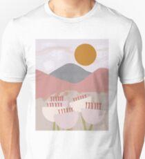 Desert Mountain Sunrise Slim Fit T-Shirt
