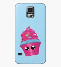 witziger Kawaii Cupcake Hülle & Skin für Samsung Galaxy