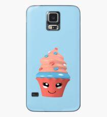 niedlicher Kawaii Cupcake Hülle & Skin für Samsung Galaxy